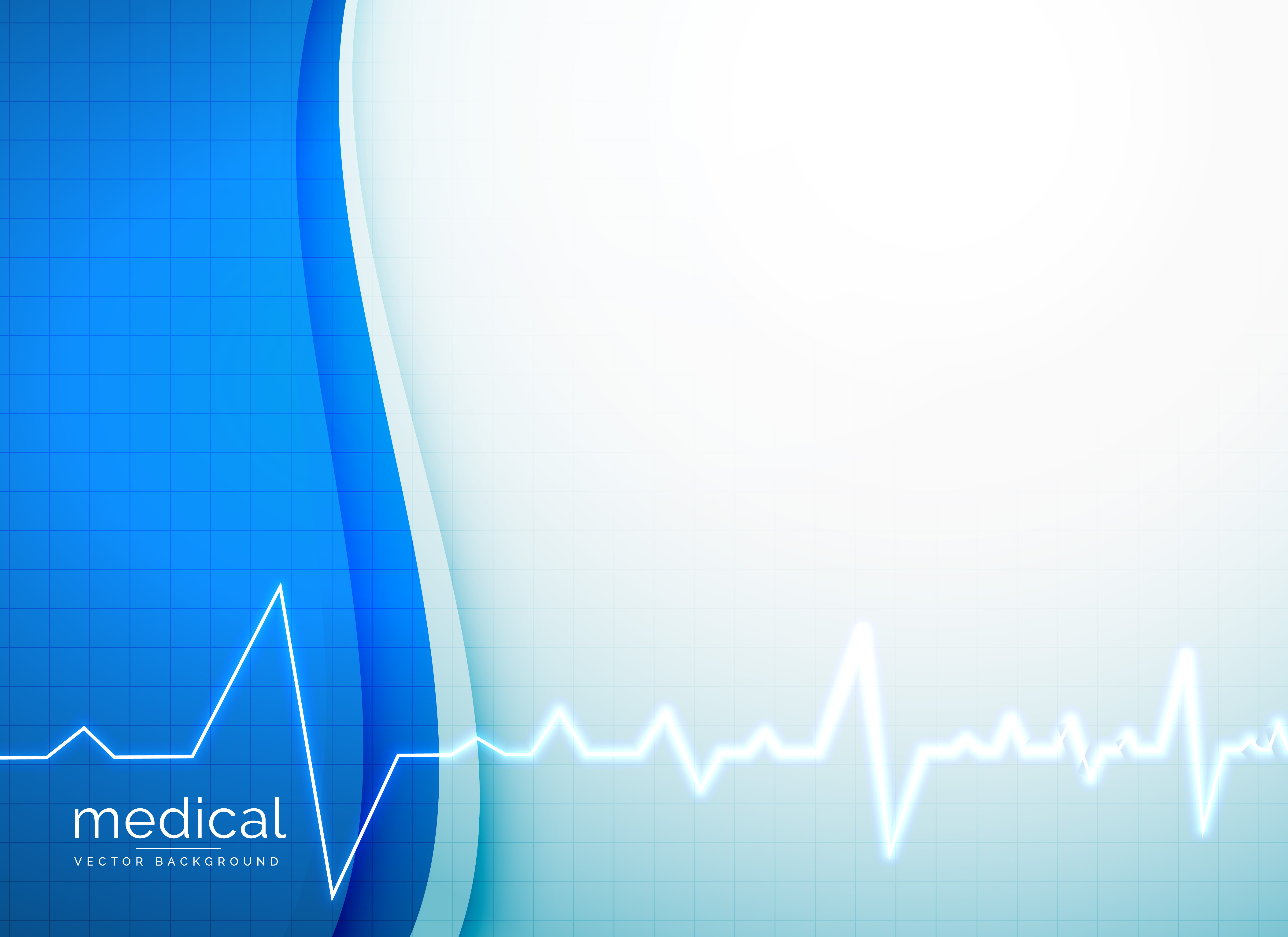 medical vector background with heartbeat line download