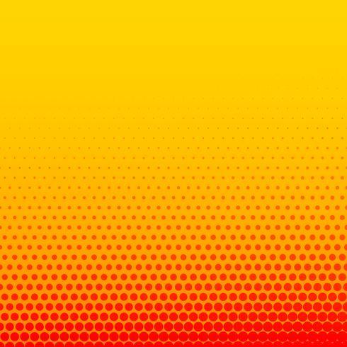 fond de demi-teinte de style bande dessinée jaune orange vif
