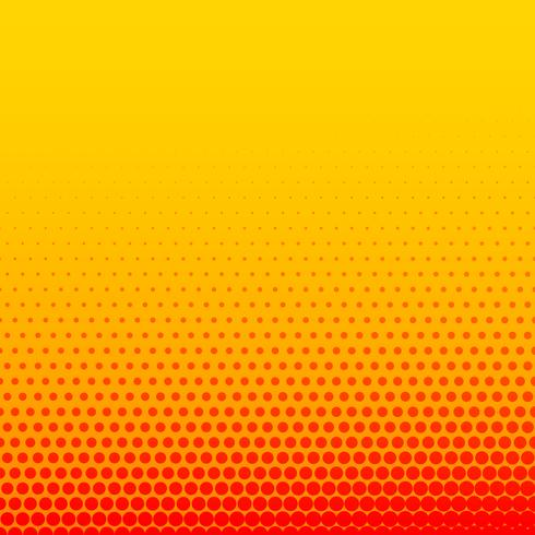 bright orange yellow comic style halftone background