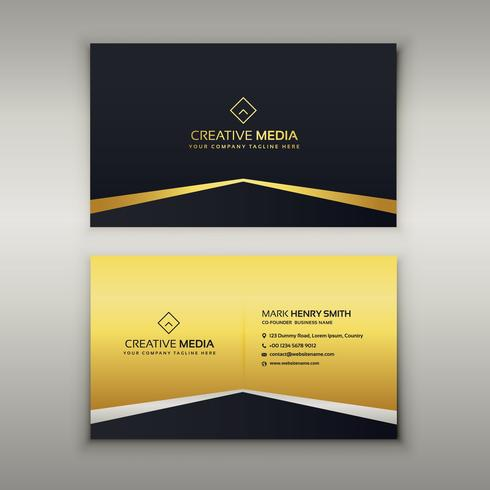 luxury business card design template