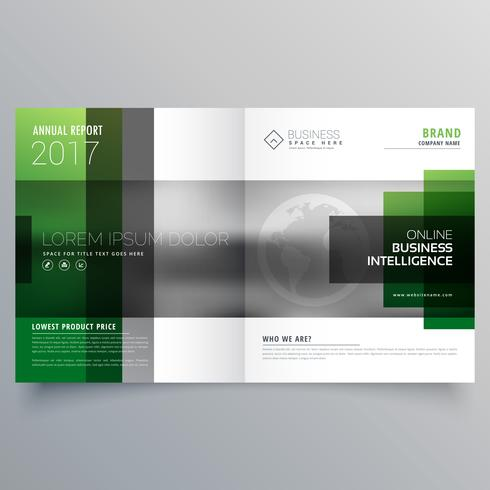 company bifold leaflet brochure flyer or magazine cover page des