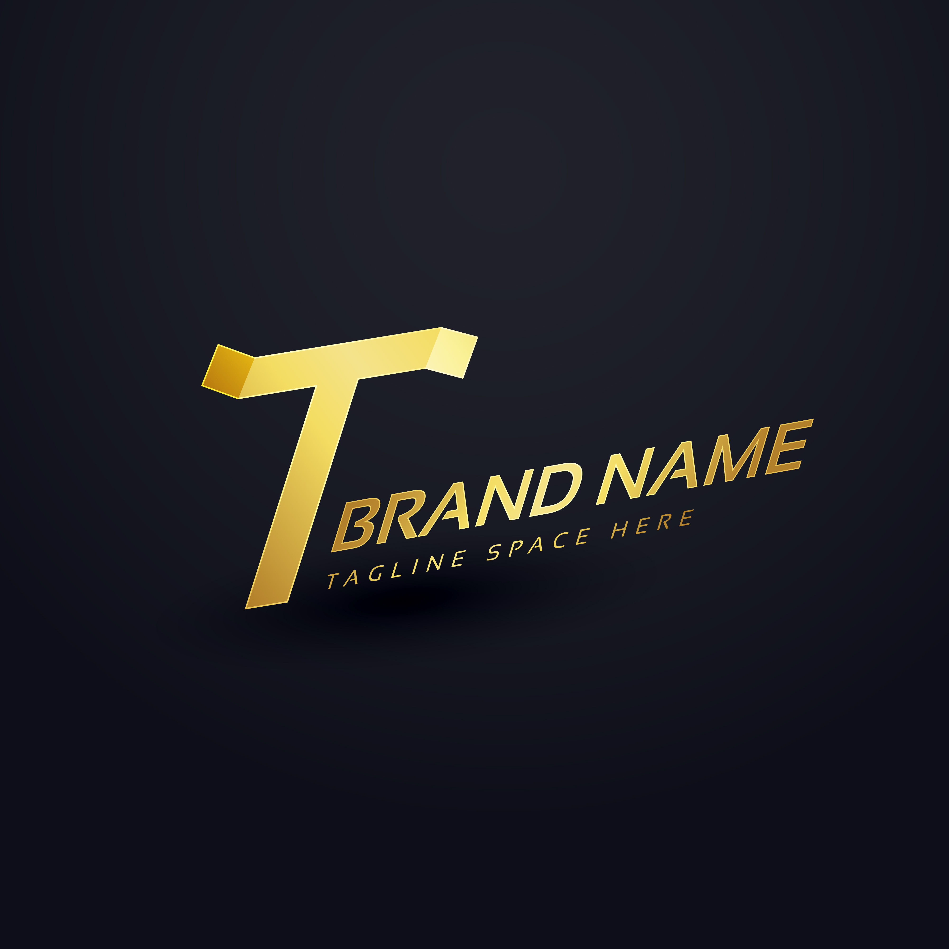 premium letter t logo concept design template download