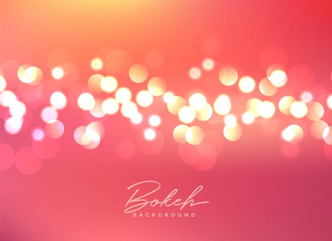 beautiful bokeh lights festive background