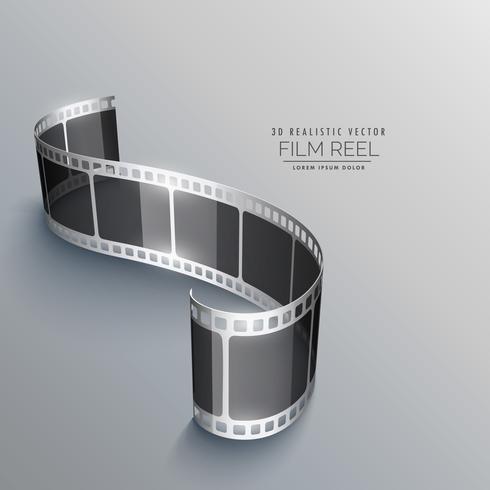 projeto de plano de fundo de tira de filme