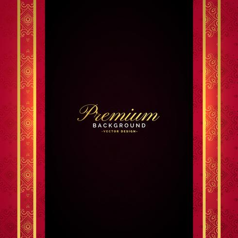 premium luxury vector template design