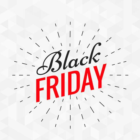 black friday stylish text with lines effect