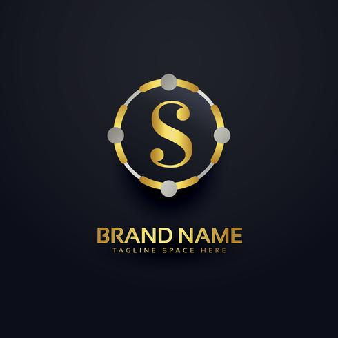 awesome letter S logo design