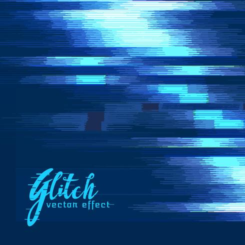 digital glitch vector effect background