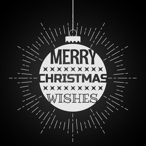 feliz navidad desea en las bolas de navidad