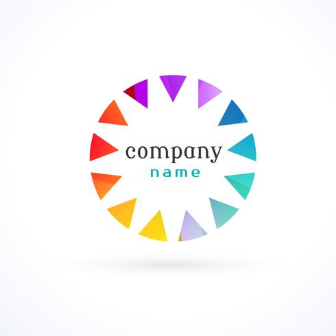 vibrant colorful logo concept