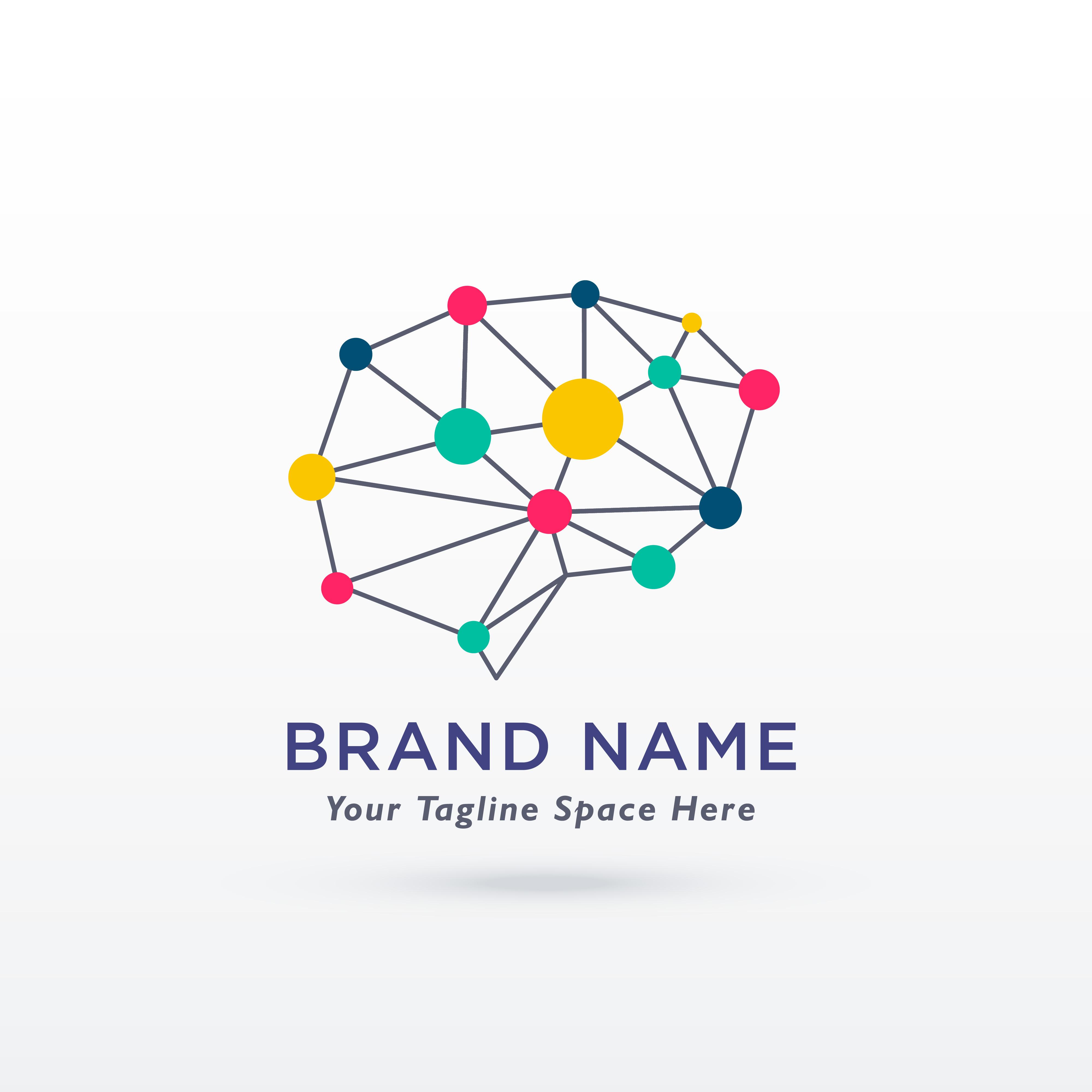 brain icon free vector art