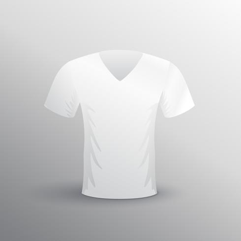 short sleeve v-neck tshirt design