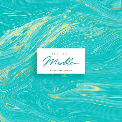 blauwe marmeren textuur met gouden schaduw in vector