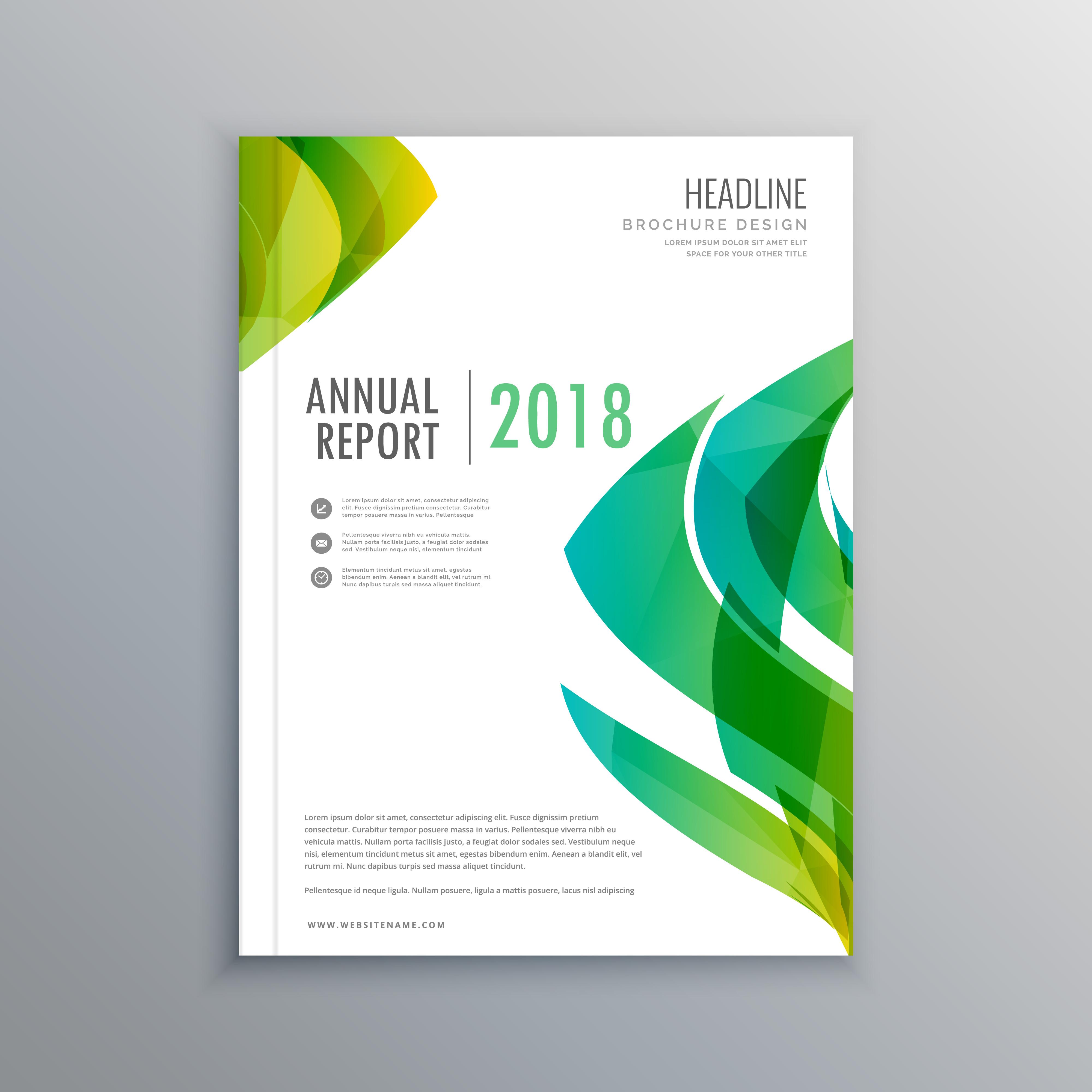 stylish green magazine cover design template - Download ...  stylish green m...