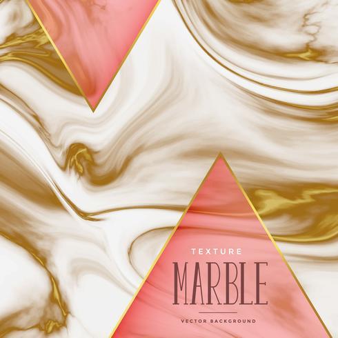 fond de texture de marbre avec des nuances dorées