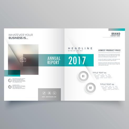 booklet cover layout template presentation for your business