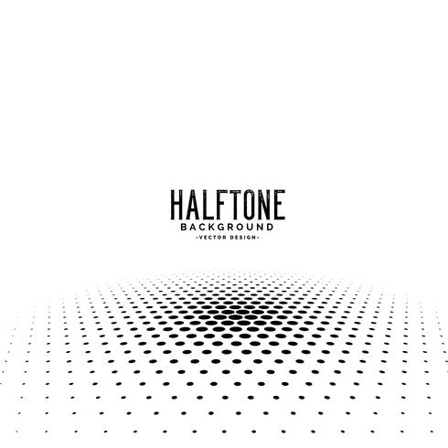 abstract perspective halftone background design