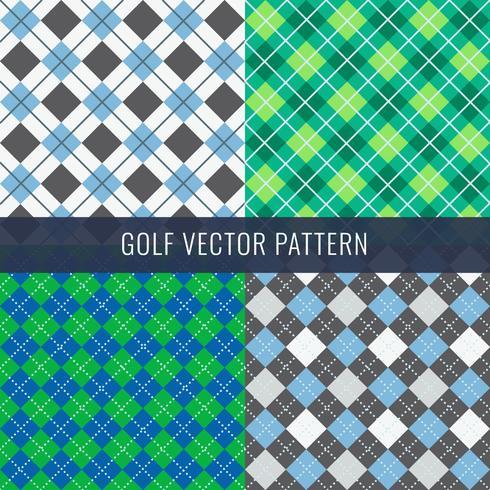 Golf-Muster