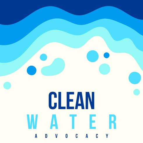 Clean Water Advocacy Poster