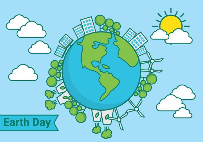 Vetor Dia da Terra
