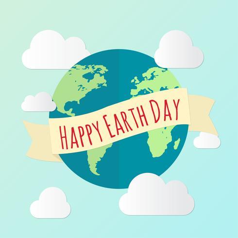 Aarde dag achtergrond