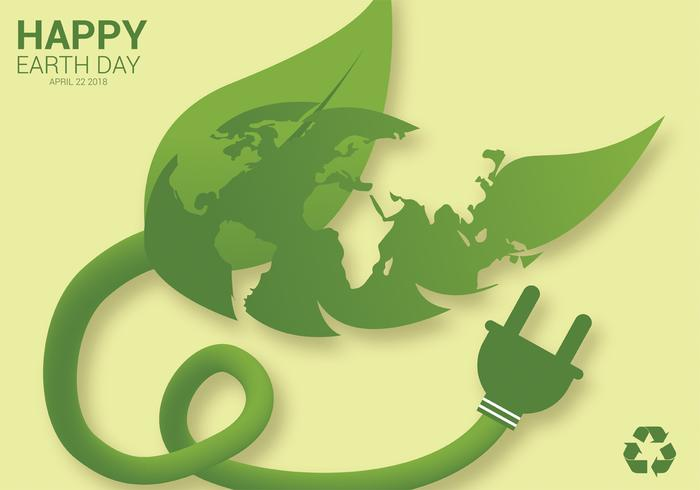 Earth Day Vector Design
