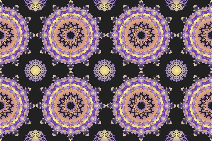 Outstanding Kaleidoscope Pattern Vectors