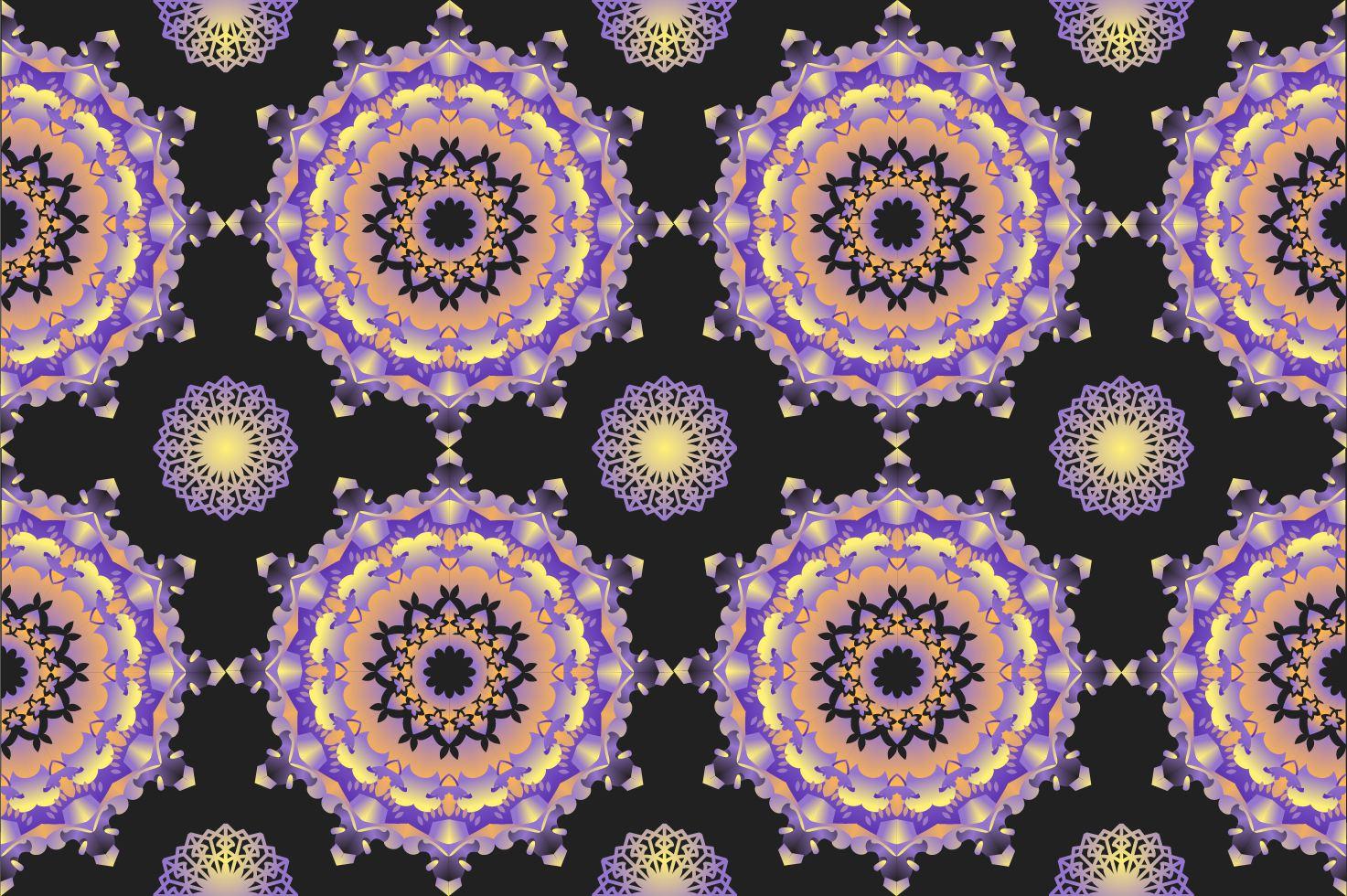 Outstanding Kaleidoscope Pattern Vectors Download Free