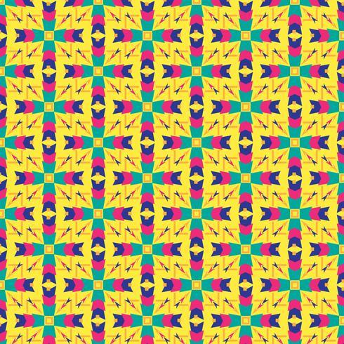 Kaleidoskop-Patter-Vektor