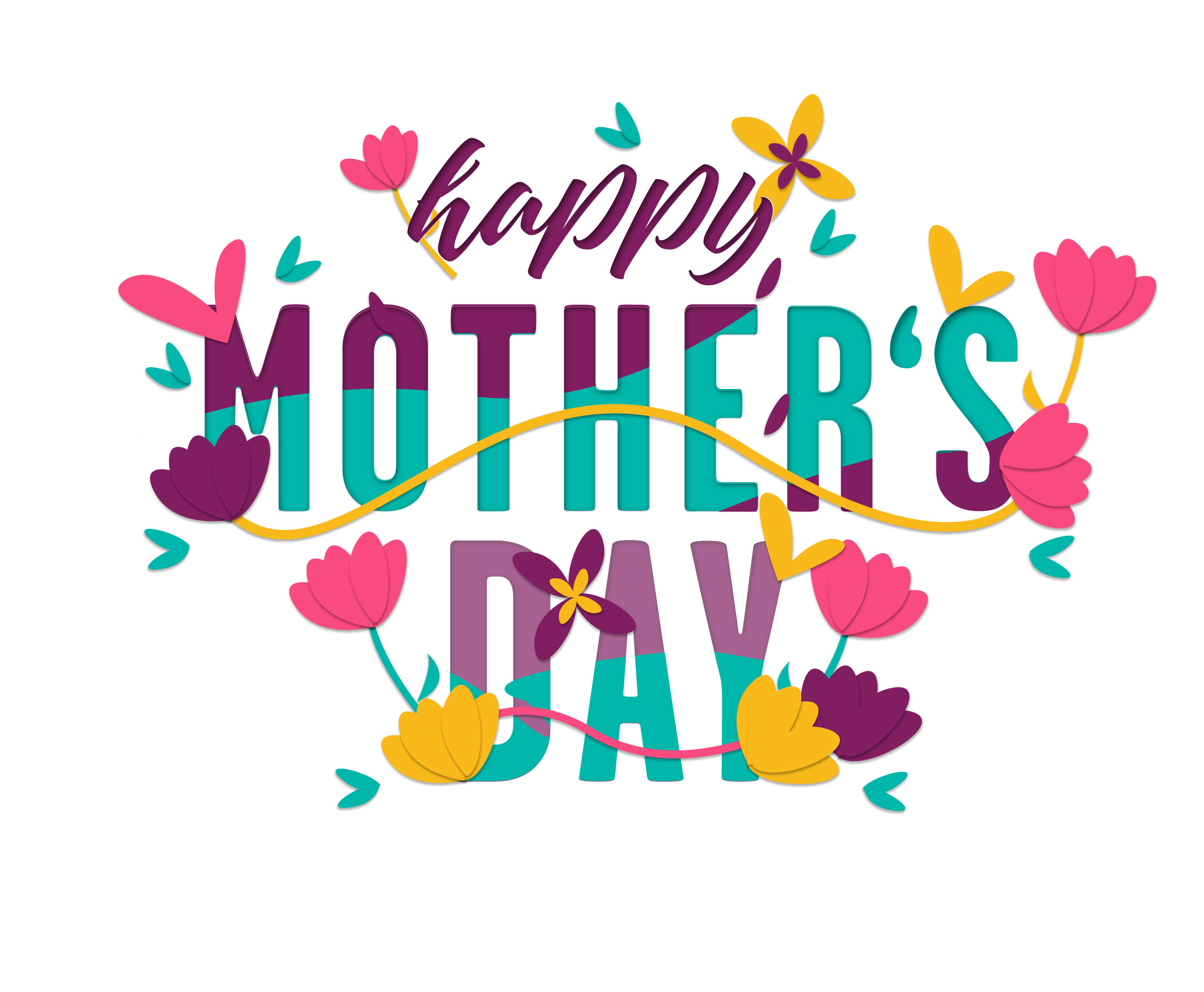 Mothers Day Card Vector - Download Free Vectors, Clipart ...