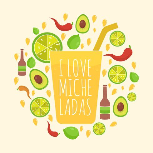 Michelada Illustration vectorielle