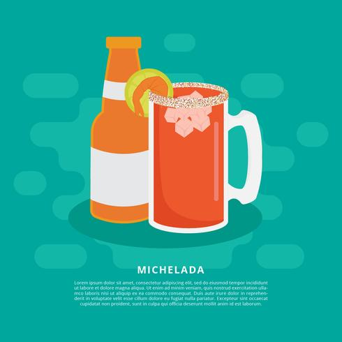 Michelada Illustration vectorielle