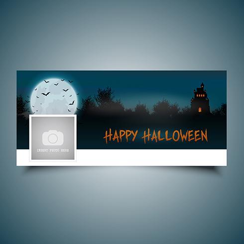 Copertura della cronologia del paesaggio di Halloween