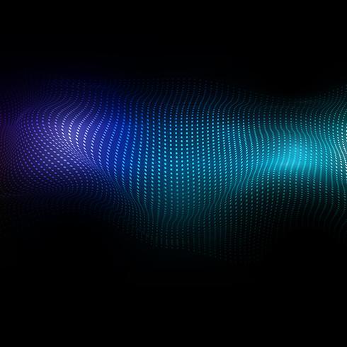 Abstrakter Hintergrund von flüssigen Punkten