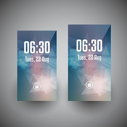Smartphone wallpaper designs