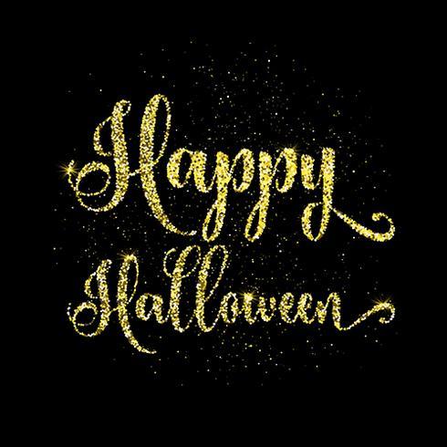 Glitter glad halloween typ bakgrund