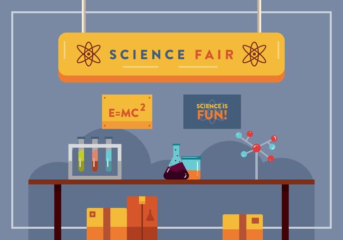 Feria de Ciencia Vector