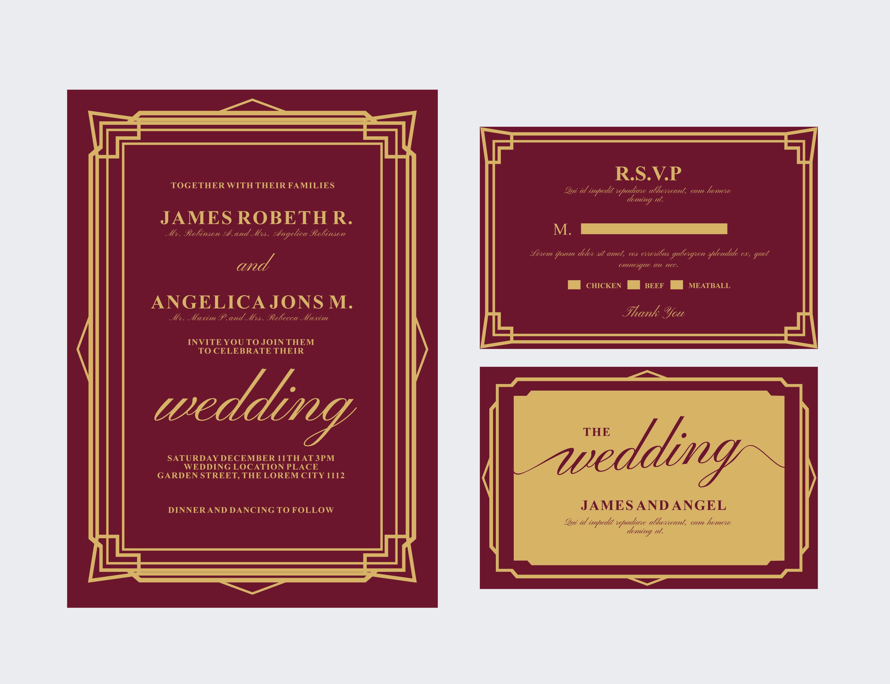 Indian Wedding Card Free Vector Art 395 Free Downloads