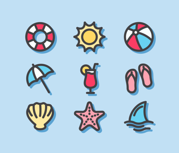 Icono de playa