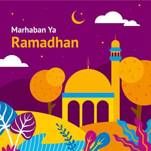 Ramadhan Background Vector