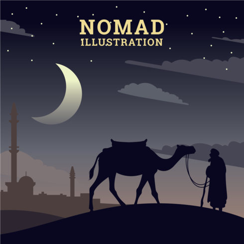 Illustration nomade