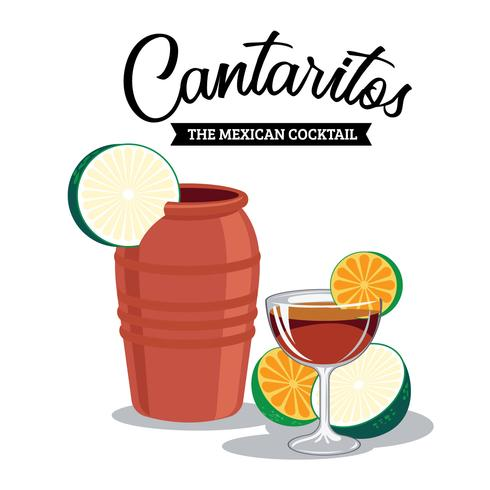 Refreshing Cantaritos The Mexican Cocktail
