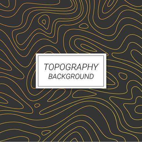 Topography Background Vector