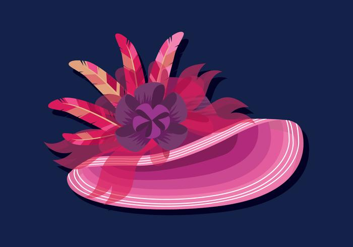 vector de sombreros de Kentucky Derby