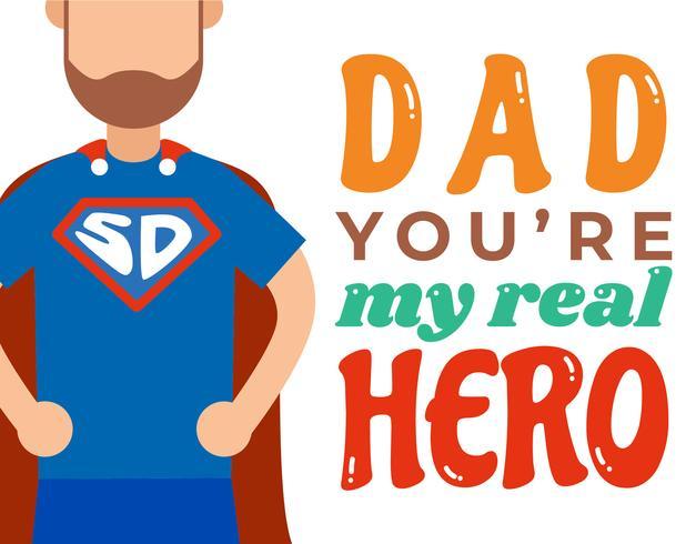 Mein Superdad-Plakat