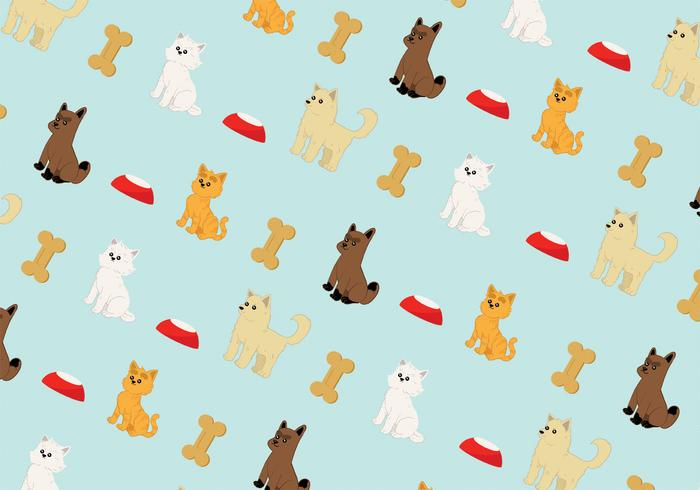 Puppies and Kittens Pattern