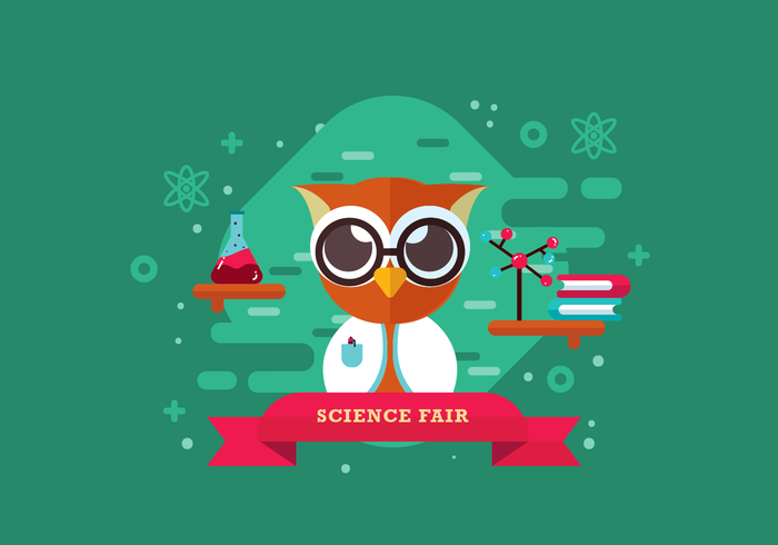 Vetor de feira de ciência