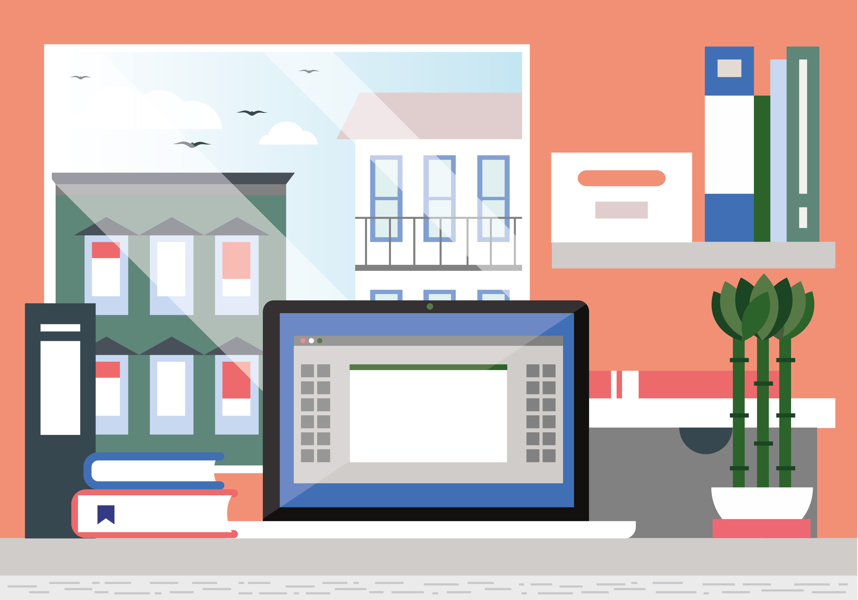 vektor designer raum illustration kostenlose vektor kunst archiv grafiken bilder herunterladen. Black Bedroom Furniture Sets. Home Design Ideas