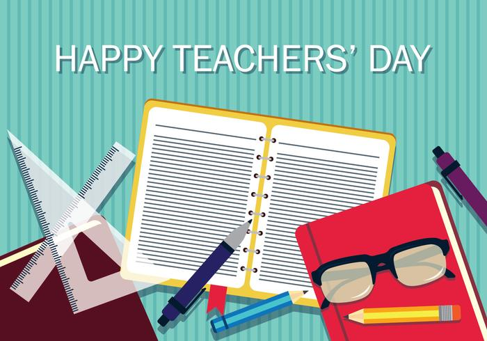 Teachers Day Vector Illstration
