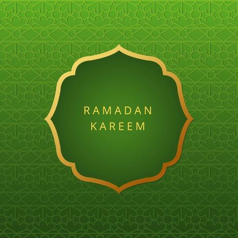 Ramadan achtergrond illustratie